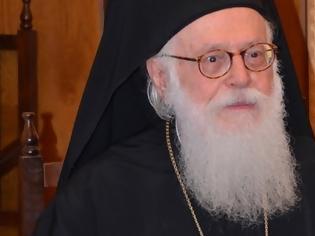 Φωτογραφία για Ξανά με πυρετό ο Αρχιεπίσκοπος Αλβανίας Αναστάσιος