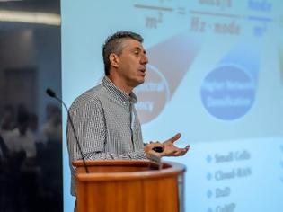 Φωτογραφία για Τα κέρδη της έρευνας μέσα στην πανδημία αναλύει ο καθηγητής Γ. Καραγιαννίδης