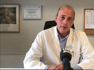 Φωτογραφία για Ο καθηγητής καρδιολογίας Βασίλειος Βασιλικός που νοσηλεύεται με COVID πνευμονία περιγράφει την κόλαση του νοσοκομείου