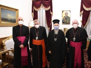 Φωτογραφία για Βαρθολομαίος συναντήθηκε με αντιπροσωπεία της τουρκικής κυβέρνησης