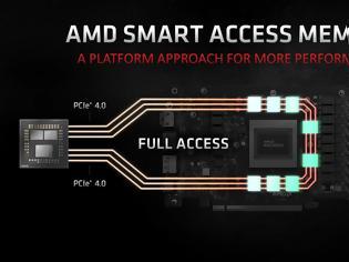 Φωτογραφία για Smart Access Memory για τις κάρτες Radeon της AMD  στις μητρικές με chipset σειράς 400