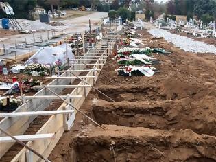 Φωτογραφία για Ανατριχιαστικές εικόνες: Ανοίγουν δεκάδες νέους τάφους στη Θεσσαλονίκη