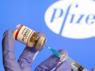 Φωτογραφία για WSJ: Η Pfizer θα διανείμει τελικά τις μισές από τις δόσεις που είχε ανακοινώσει για το 2020
