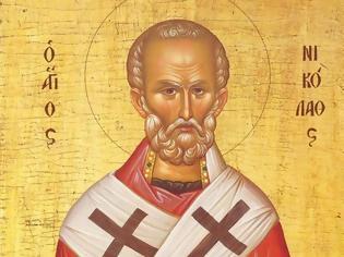 Φωτογραφία για Άγιος Νικόλαος Αρχιεπίσκοπος Μύρων της Λυκίας, ο Θαυματουργός