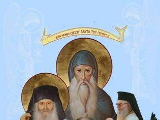 Φωτογραφία για Ο Ηγούμενος της Μονής Οσίου Δαυίδ Αρχιμ. Γαβριήλ, ομιλεί για τον Άγιο Ιάκωβο Τσαλίκη