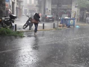 Φωτογραφία για Κακοκαιρία με ισχυρές βροχές και καταιγίδες. Δείτε από ποια ώρα