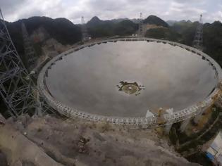 Φωτογραφία για FAST: Το μεγαλύτερο αστεροσκοπείο στον κόσμο