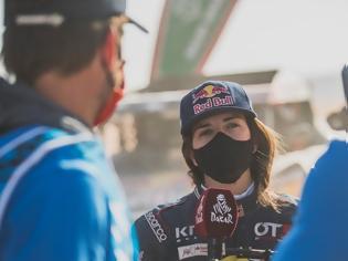 Φωτογραφία για Η Χριστίνα Γκουτιέρες ήταν το πραγματικό αστέρι της Stage 1 του Dakar