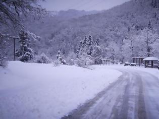 Φωτογραφία για Μετά τις υψηλές θερμοκρασίες έρχεται ο... χιονιάς της Ισπανίας