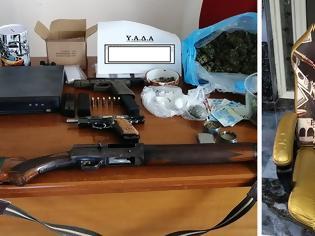 Φωτογραφία για Δυτική Αττική: Έφοδος της αστυνομίας - Ο... θρόνος του Εσκομπάρ και οι συλλήψεις για πυροβολισμούς και ληστείες