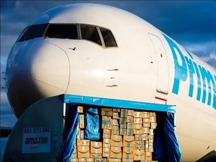 Φωτογραφία για Η Amazon αγόρασε αεροπλάνα λόγω του μεγάλου αριθμού παραγγελιών