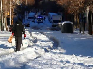Φωτογραφία για Μαδρίτη: σε αυστηρό lockdown λόγω της πρωτοφανούς χιονοθύελλας - Ρεκόρ 50 χρόνων