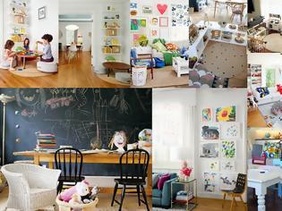 Φωτογραφία για Σαλόνια - Καθιστικά διαμορφωμένα για χρήση και από παιδιά