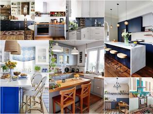 Φωτογραφία για Κουζίνες σε Μπλε αποχρώσεις