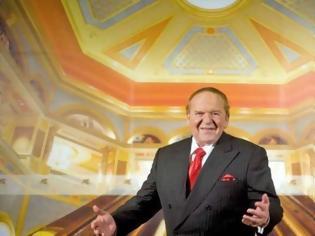 Φωτογραφία για ΗΠΑ: Πέθανε σε ηλικία 87 ετών ο μεγιστάνας των καζίνο Σέλντον Άντελσον