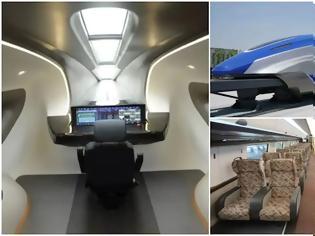 Φωτογραφία για Κίνα: Το υπέρ-τρένο στην υπηρεσία των επιβατών μέσα στο 2021.