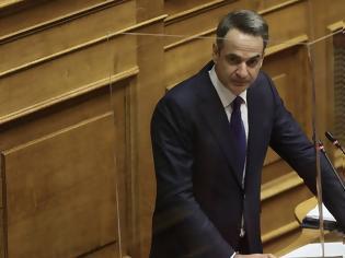 Φωτογραφία για Μητσοτάκης:  Στα 500 ευρώ τα πρόστιμα για μη τήρηση των μέτρων - Τι ανακοίνωσε για ενοίκια επαγγελματιών, επιδόματα ανεργίας