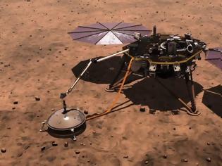 Φωτογραφία για NASA: «Νεκρό» το τρυπάνι του InSight - Σταματούν οι γεωτρήσεις στον Άρη