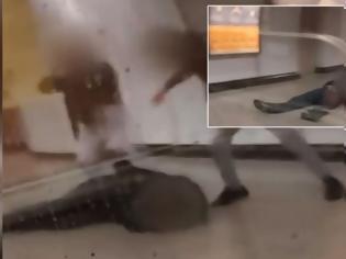 Φωτογραφία για Επίθεση στο Μετρό : Συνελήφθησαν δυο ανήλικοι 15 και 17 ετών που φέρονται να ξυλοκόπησαν τον σταθμάρχη
