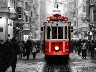 Φωτογραφία για Το «νοσταλγικό» τραμ της Κωνσταντινούπολης.