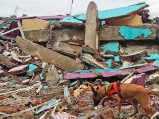 Φωτογραφία για Ινδονησία: Στους 73 ο αριθμός των νεκρών από τον σεισμό των 6,2 βαθμών - Οι καταρρακτώδεις βροχές δυσκολεύουν τις έρευνες