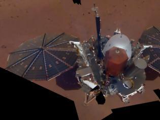 Φωτογραφία για Η NASA κήρυξε πια «νεκρό» το τρυπάνι του ρομποτικού σκάφους InSight στον Άρη