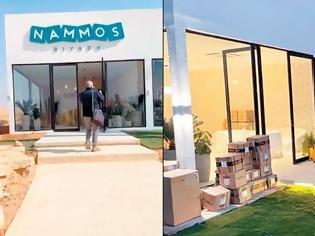 Φωτογραφία για «Nammos» πάει στη μέση της ερήμου!