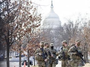 Φωτογραφία για Ορκωμοσία Μπάιντεν: Έλεγχοι του FBI στα μέλη της Εθνικής Φρουράς που θα βρίσκονται στο Καπιτώλιο