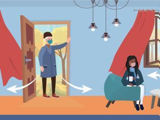 Φωτογραφία για Βελτιώστε τον αερισμό του σπιτιού κατά τη διάρκεια της πανδημίας. Οδηγίες