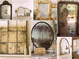 Φωτογραφία για Τεχνικές Παλαίωσης σε Καθρέφτες