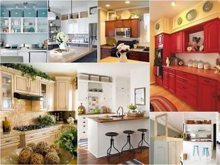 Φωτογραφία για 5 Τρόποι για να αξιοποιήσετε το κενό πάνω από τα ντουλάπια της κουζίνας