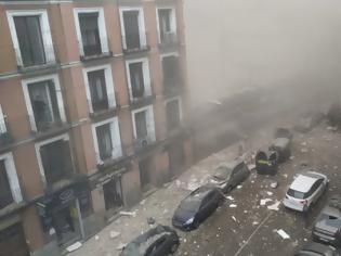 Φωτογραφία για Εικόνες χάους στη Μαδρίτη: Ισχυρή έκρηξη στο κέντρο της πόλης - Δύο νεκροί