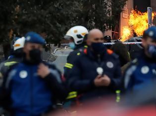 Φωτογραφία για Τρεις νεκροί από την έκρηξη στη Μαδρίτη