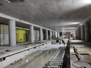 Φωτογραφία για Ο υποθαλάσσιος σταθμός του μετρό.