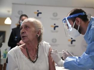 Φωτογραφία για Θεσσαλονίκη: Πρώτη… δόση θετική για τους εμβολιασμούς στους ηλικιωμένους