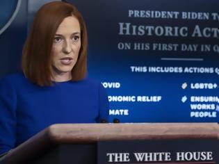 Φωτογραφία για Τζεν Ψάκι: Η ομογενής εκπρόσωπος Τύπου του Λευκού Οίκου στο πρώτο της briefing