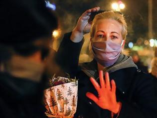 Φωτογραφία για Ρωσία: Η αστυνομία προφυλάκισε τη σύζυγο του Αλεξέι Ναβάλνι