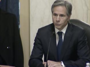 Φωτογραφία για Άντονι Μπλίνκεν: Η αρμόδια επιτροπή της Γερουσίας ενέκρινε τον διορισμό του στο αξίωμα του ΥΠΕΞ