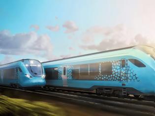 Φωτογραφία για Το πρώτο τρένο υδρογόνου της Ισπανίας με τεχνολογία Hexagon Purus.
