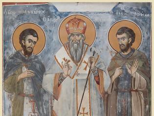 Φωτογραφία για Οι Άγιοι του Άθω: Άγιος Μακάριος οσιομάρτυρας (†1505/6) / Saint Macarius monastic martyr (†1505/6)
