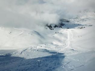 Φωτογραφία για Ελβετία: Ζευγάρι καταπλακώθηκε από χιονοστιβάδα και σώθηκε χάρη στα σκυλιά του