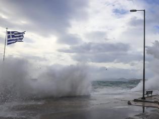 Φωτογραφία για Επιδείνωση με ισχυρές βροχές σε όλη τη χώρα και θυελλώδεις νότιους ανέμους μέχρι 9 μποφόρ