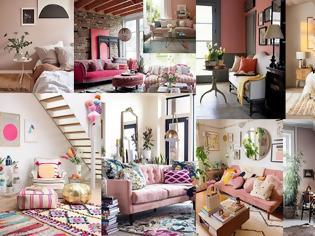 Φωτογραφία για 50+ Ξεχωριστές διαμορφώσεις - διακοσμήσεις εσωτερικού χώρου σε αποχρώσεις του Ροζ