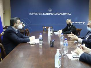 Φωτογραφία για Συνάντηση στην Περιφέρεια Κεντρικής Μακεδονίας για την πορεία υλοποίησης του Μουσείου Ολοκαυτώματος στη δυτική Θεσσαλονίκη.