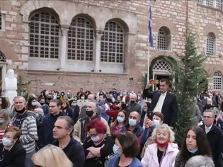Φωτογραφία για Θεσσαλονίκη: «Φταίει η αστυνομία» - Τρεις μήνες μετά... η μητρόπολη απαντά για τον συνωστισμό στον Άγιο Δημήτριο