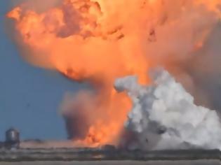 Φωτογραφία για Βίντεο: Η SpaceX απέτυχε - Ανατινάχθηκε κατά την προσεδάφισή του το πρωτότυπο διαστημόπλοιο