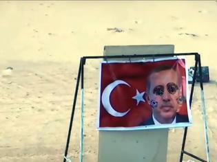 Φωτογραφία για Λιβύη: Σκοποβολή του LNA σε φωτογραφίες του Ερντογάν
