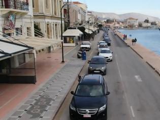 Φωτογραφία για Χίος: Μεγάλη αυτοκινητοπομπή των κατοίκων - Αντιδρούν στα σχέδια για νέα δομή