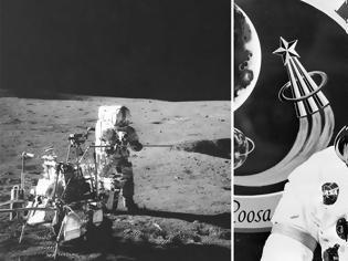 Φωτογραφία για Βρέθηκε μετά από 50 χρόνια στη Σελήνη η χαμένη μπάλα γκολφ του Άλαν Σέπαρντ
