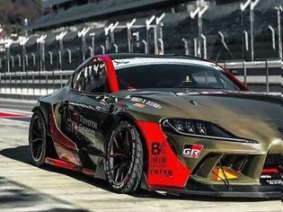 Φωτογραφία για Toyota GR Supra drift 1000ps